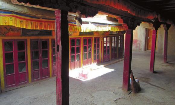 Второй этаж монастыря