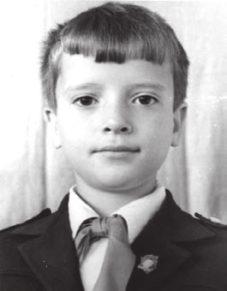 Будущий астрохимик Дмитрий Вибе. 1-й класс