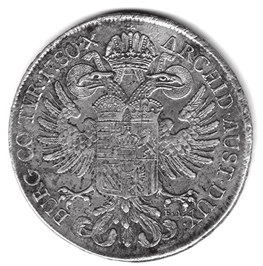 Аналог талера в россии 6 букв что такое аверс монеты