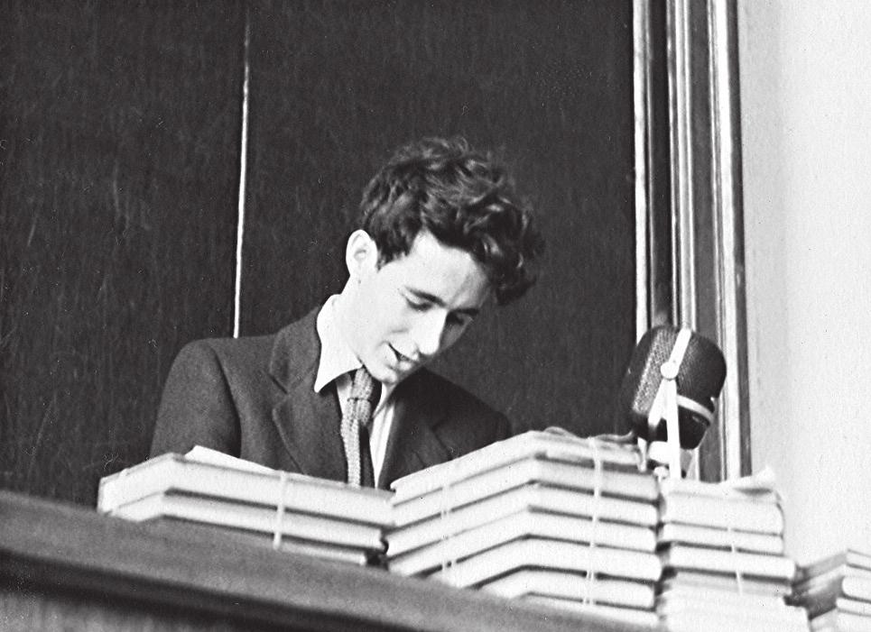 В. И. Арнольд в 1957-м. Фото Е. А. Ермаковой