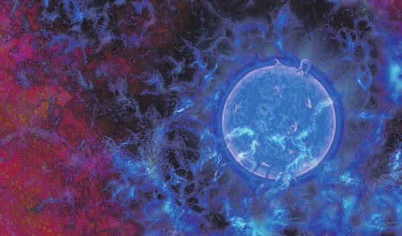 Первые звезды. Фантазия художника. N.R.Fuller, National Science Foundation