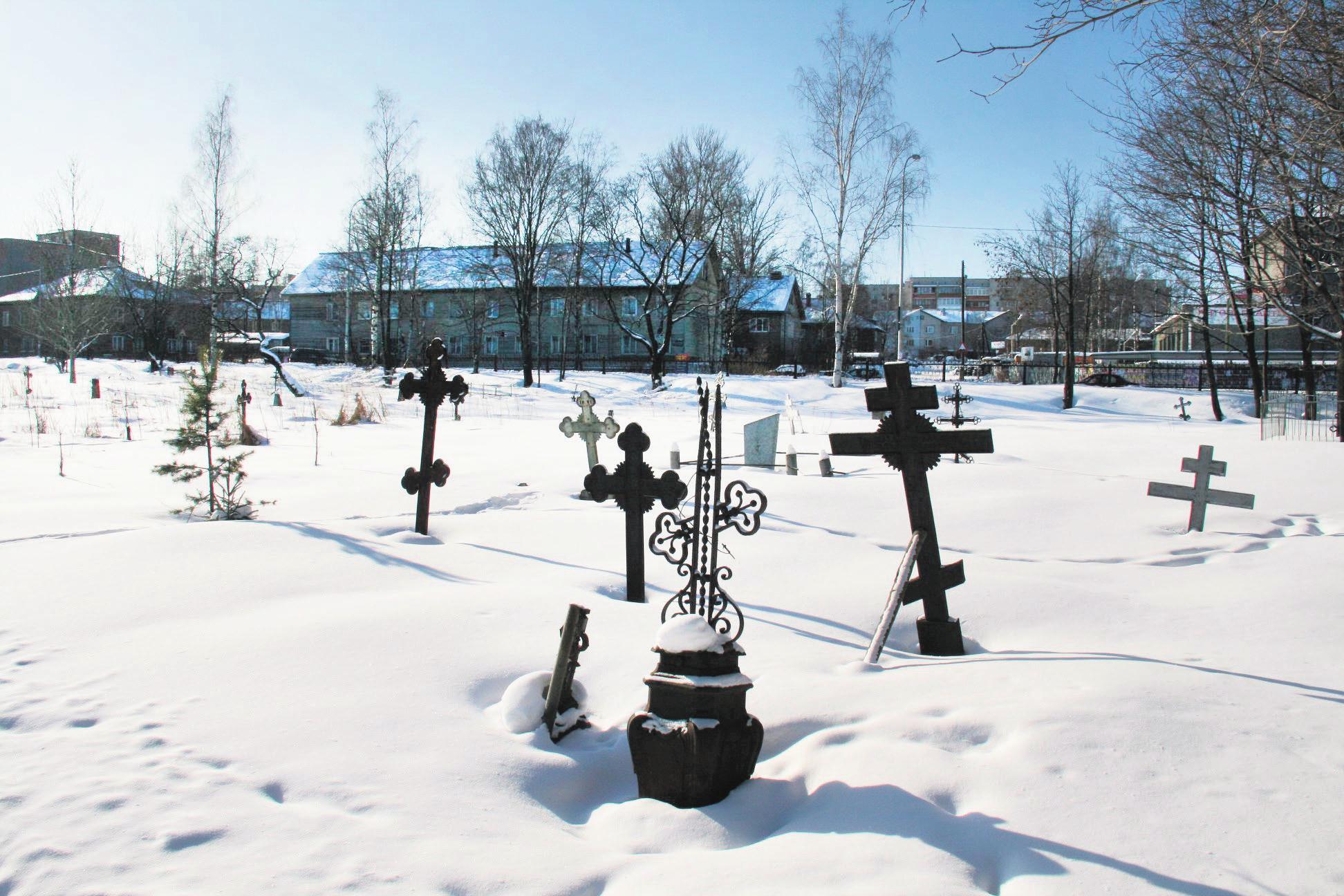 Зарецкое кладбище. Фото А. Беловой