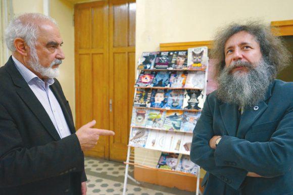 Г. Гольцман и М. Гельфанд. Фото Н. Деминой