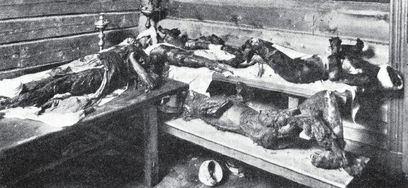 Обугленные трупы 9 человек в часовне при железнодорожной больнице(niva.ws)