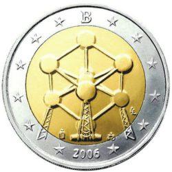 Рис. 4. Атомиум на монете