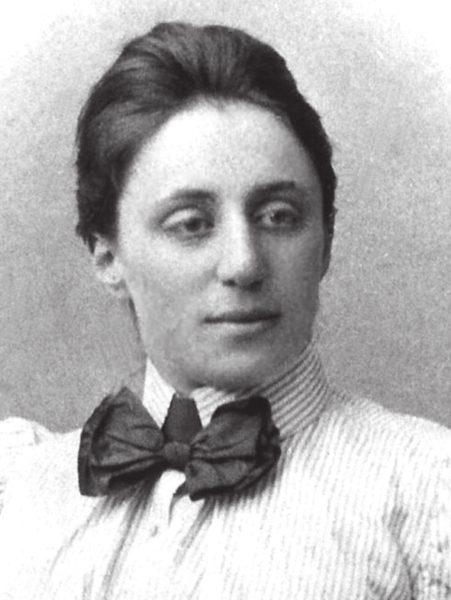 Эмми Нётер в1910году («Википедия»)