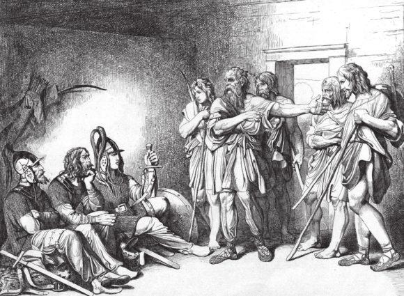Ф. А. Бруни. Призвание варягов (1839)