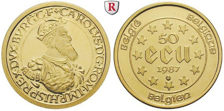 Рис.5. Бельгийская золотая монета