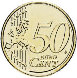 Рис. 2. 50 евроцентов, реверс