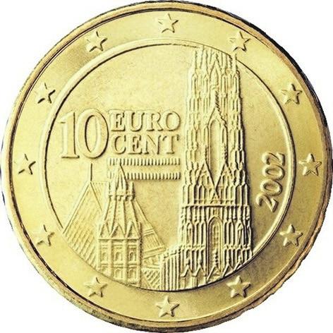 Рис. 8. Австрия, 10 центов