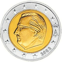Рис. 12. Бельгия, 2 евро, 2002 год