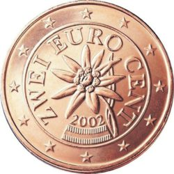 Рис. 10. Австрия, 2 цента