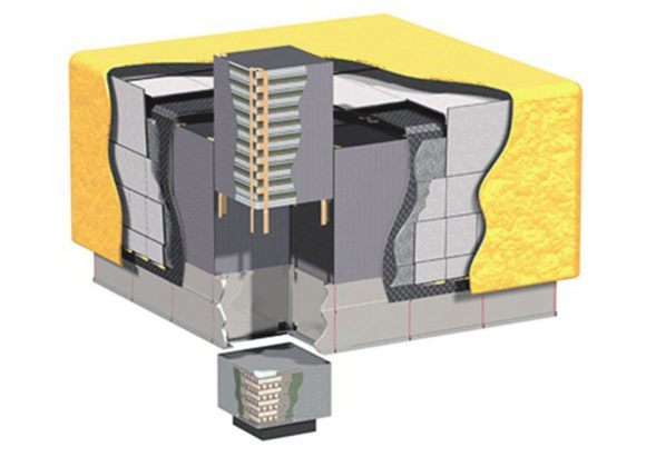 Схема телескопа LAT