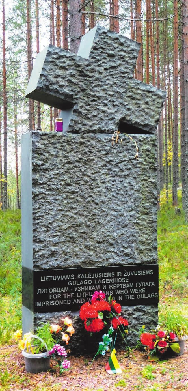 Памятник жертвам ГУЛАГа в Сандармохе. «Википедия»