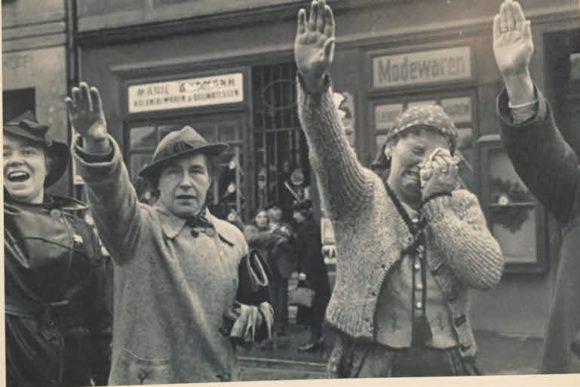 Встреча немецких войск в Судетах, 1938 год