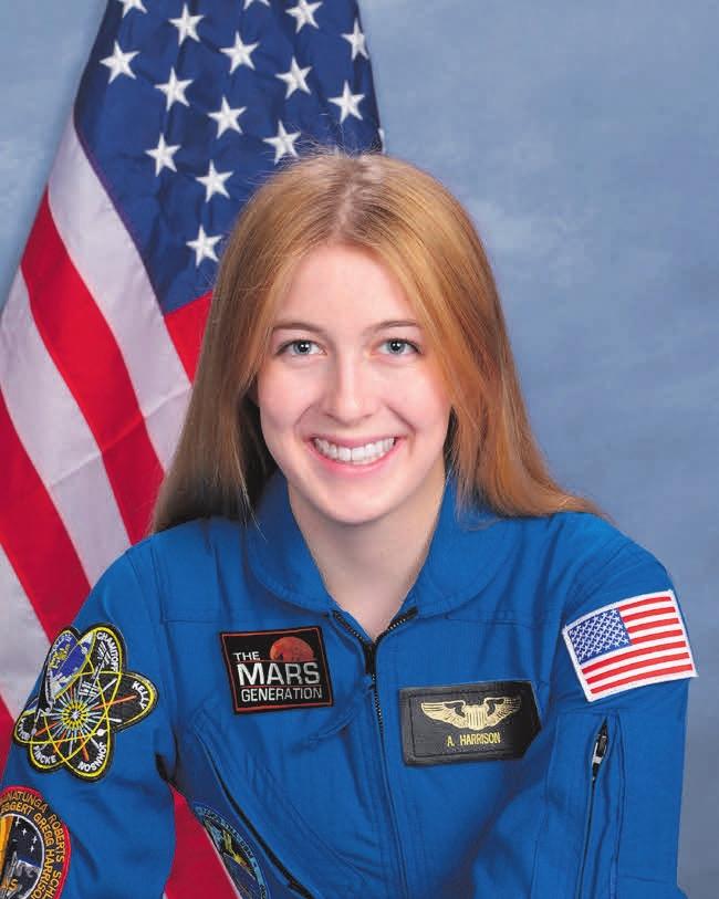 Эбигейл Харрисон, студентка-астробиолог и лидер движения «Поколение Марса» («Википедия»)