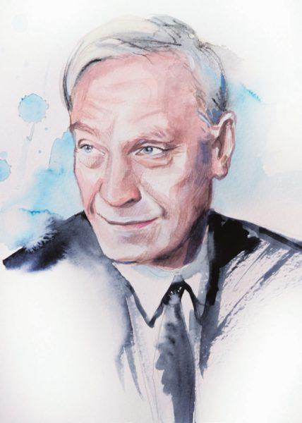 А. И. Лейпунский. Рисунок Дарьи Шёпот (Обнинск)