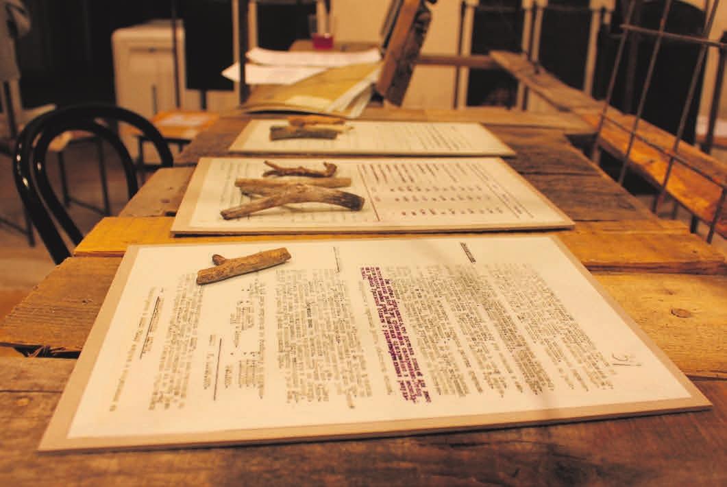 3. Цитаты из документов Центрального архива ФСБ. Фото Веры Тименчик