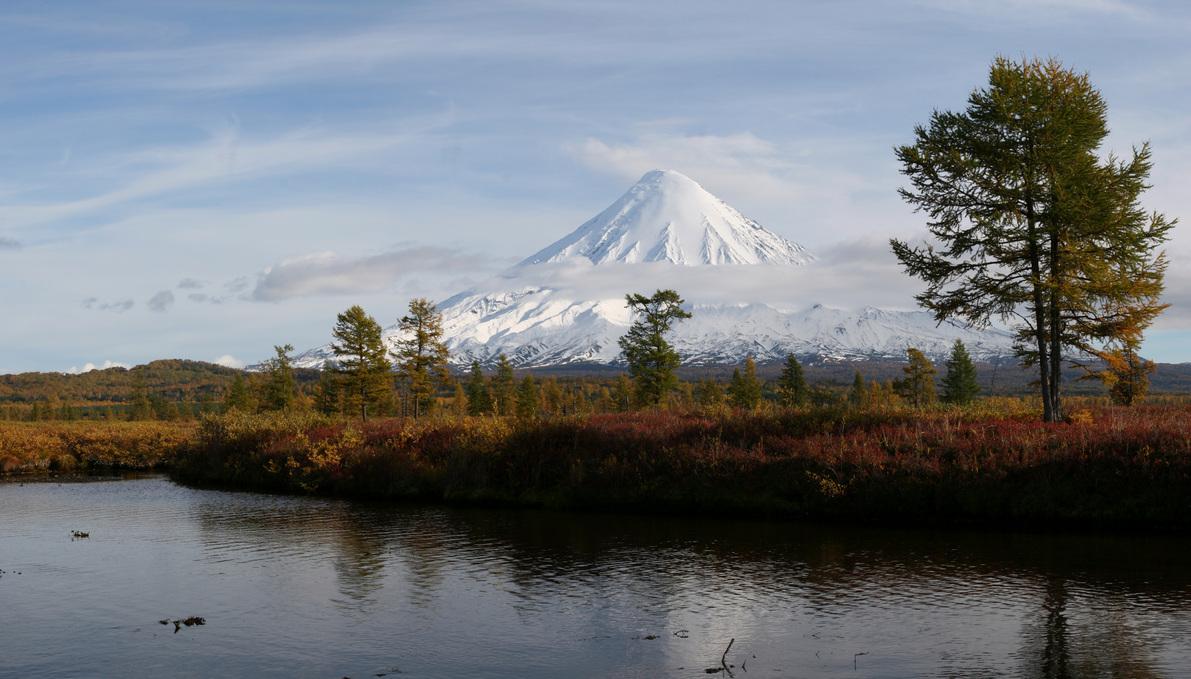 Река Кроноцкая. Фото Г. Маркевича