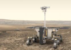 Марсоход, построенный в рамках программы «Марс-2020» (ESA)