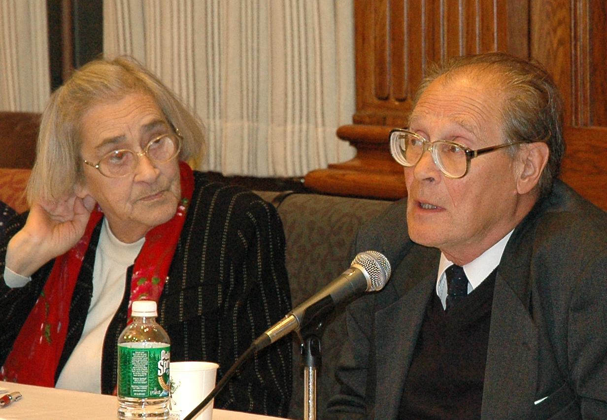 С Еленой Боннэр. Фото из семейного архива