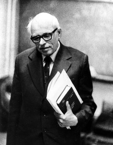 Андрей Сахаров в ФИАНе вскоре после ссылки, 1986 год. Фото из архива Сахаровского центра