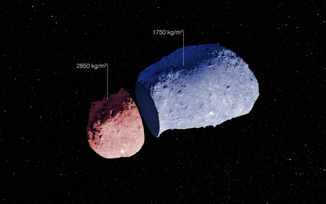 Астероид Итокава. Изображение: JAXA