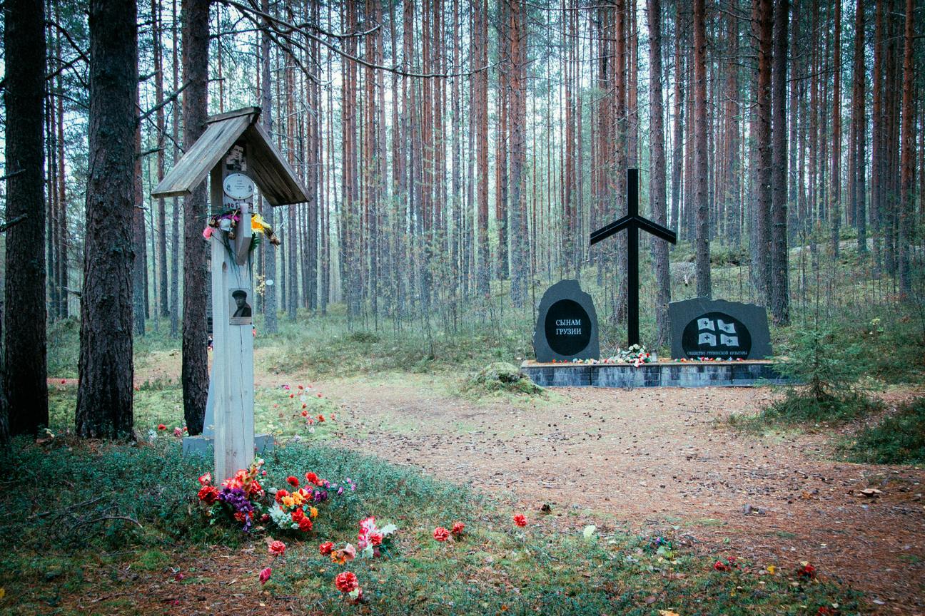 Урочище Сандармох, 2018 год. Фото П. Шелковникова