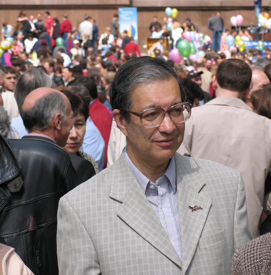 И.А.Леенсон на Дне химика в МГУ (2006 год)