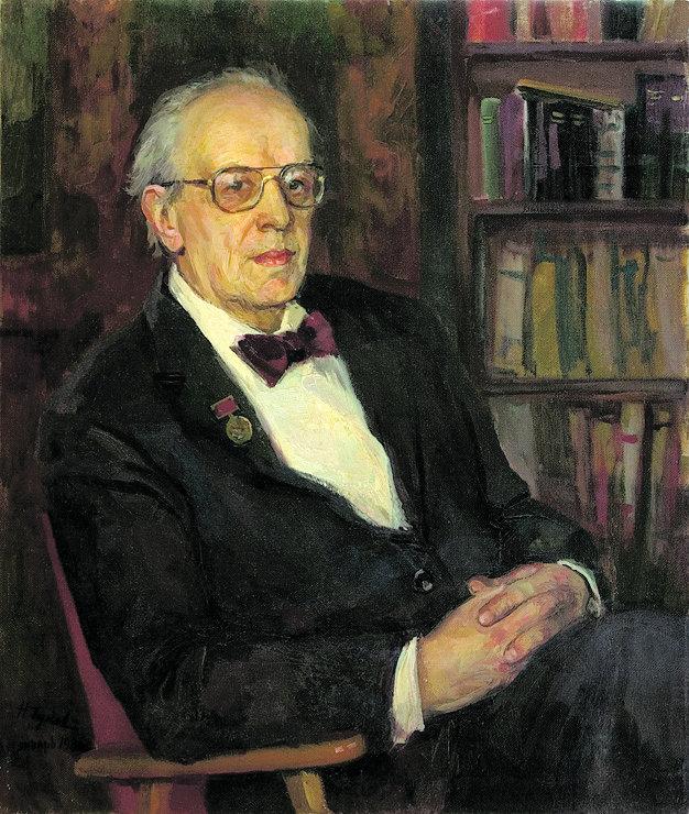 Никита Толстой. Портрет работы Николая Чукова (1986) с сайта chukov-art.ru