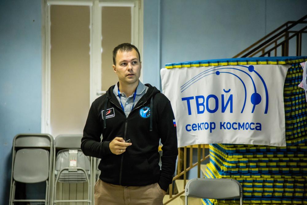 Космонавт-испытатель Дмитрий Петелин