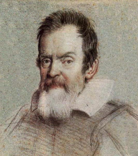 Галилео Галилей. Портрет работы Оттавио Леони, 1624 год