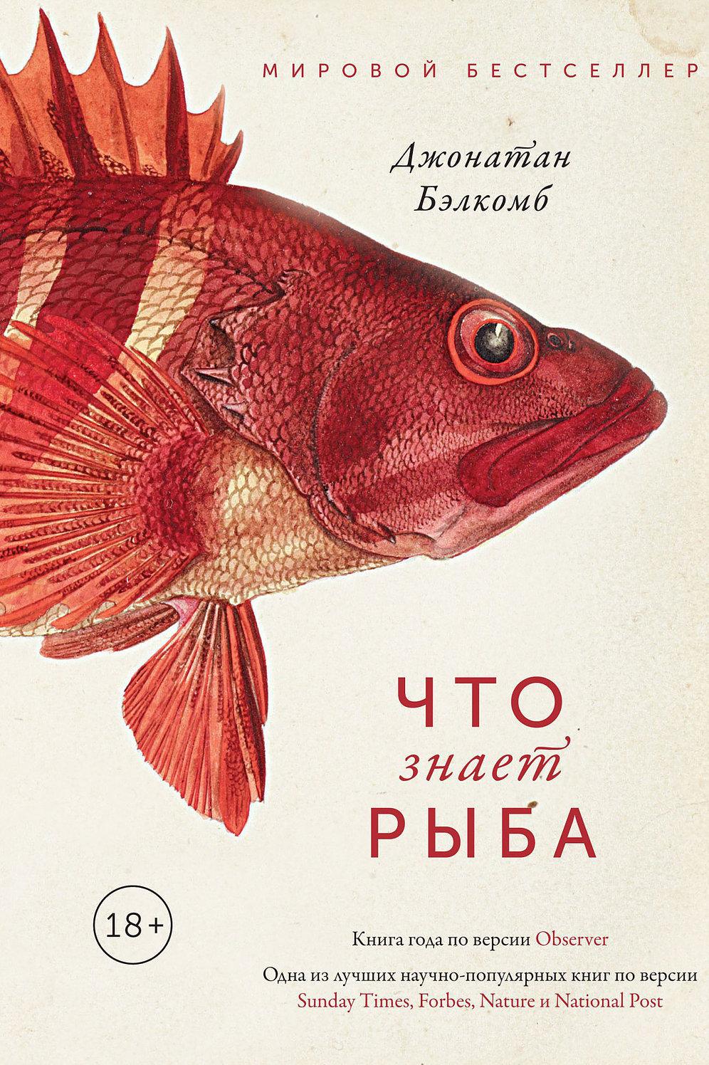 Бэлкомб Дж. Что знает рыба. М.: КоЛибри, 2019