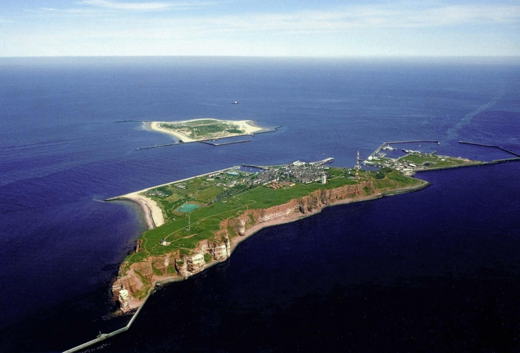 Архипелаг Гельголанд с высоты птичьего полета. «Википедия»