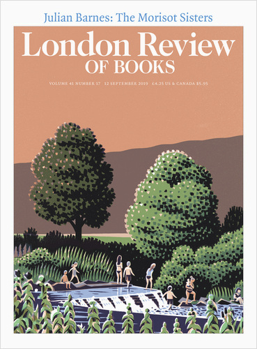London review of Books Vol. 41 No. 17 12 September 2019