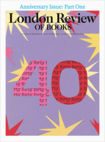 London review of Books Vol. 41 No. 19 10 October 2019