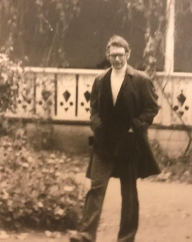Йенс Райх в Ясной Поляне. Середина 1970-х