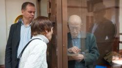 Виктор Кудрявцев в зале суда. Фото Н. Деминой