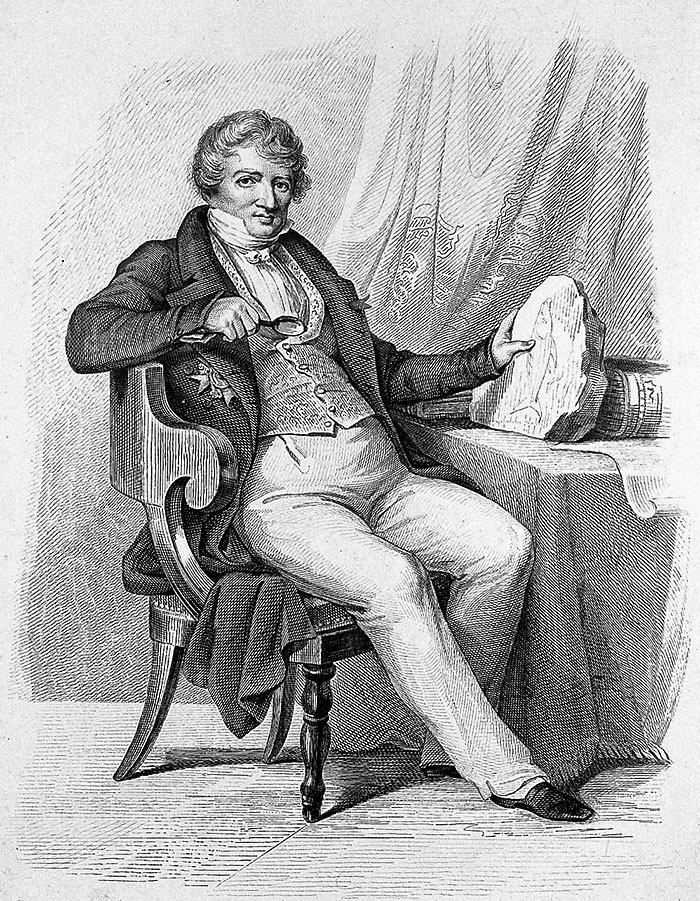 Жорж Кювье. «Википедия»