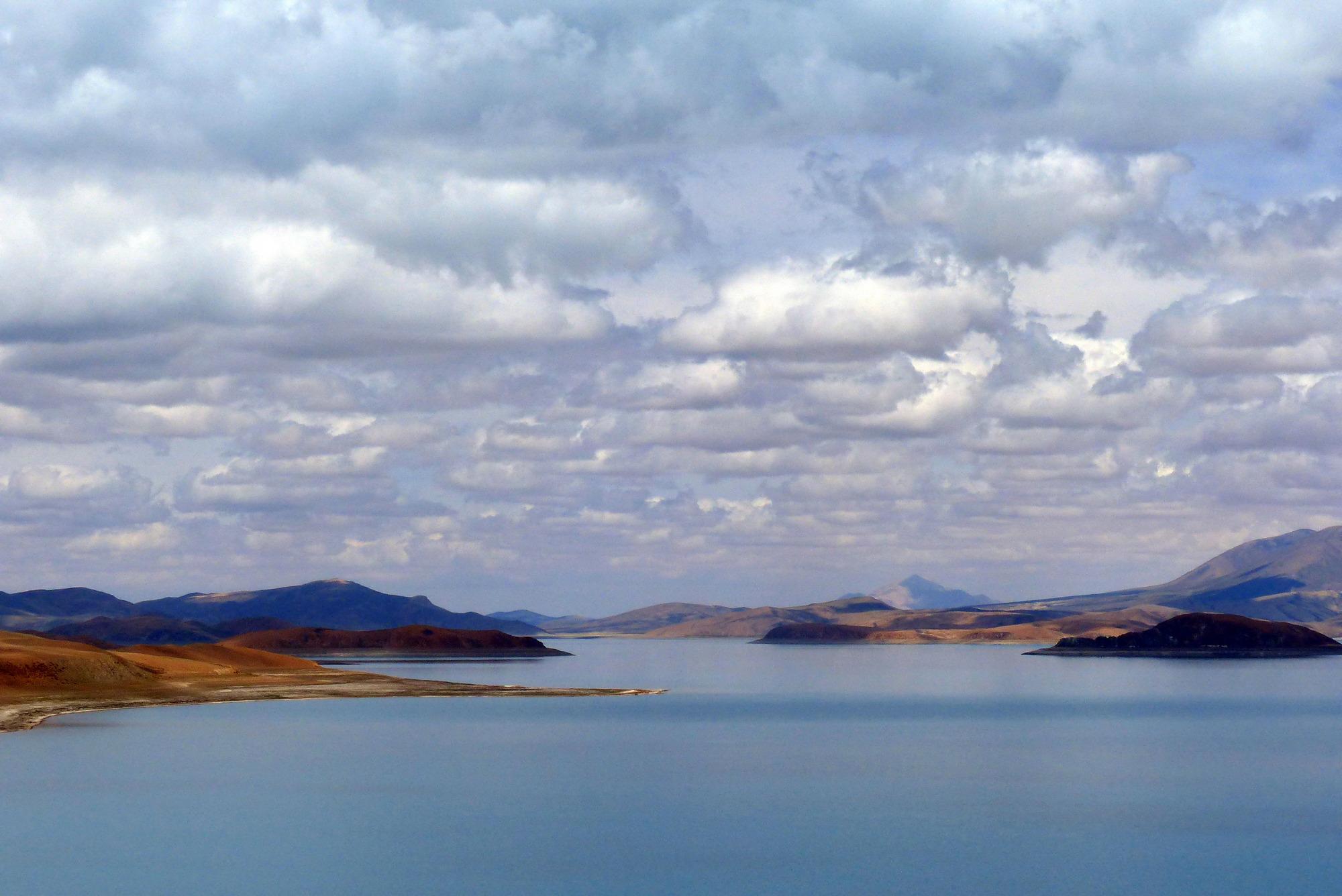 Озеро Ракшастал (озеро Демонов), Юго-Западный Тибет, Китай. Фото Н. И. Неупокоевой. 9.07.2018