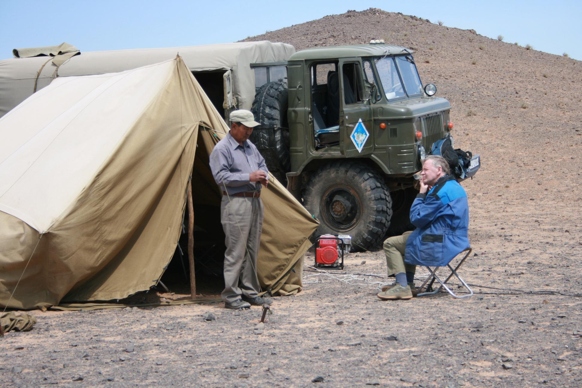Полевая жизнь в пустыне Гоби (Монголия). Фото С. Н. Литвинчука. 24.06.2008