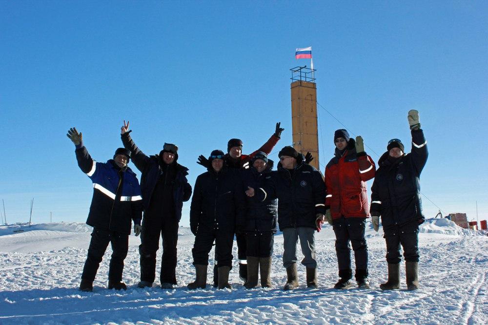 Гляцио-буровой отряд станции «Восток». Фото со страницы Алексея Екайкина в «ВКонтакте»