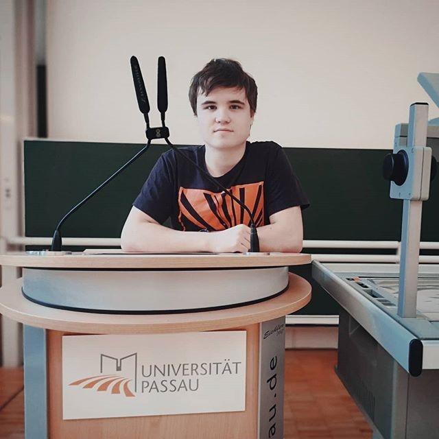Евгений Иванов, Университет Пассау (Бавария)