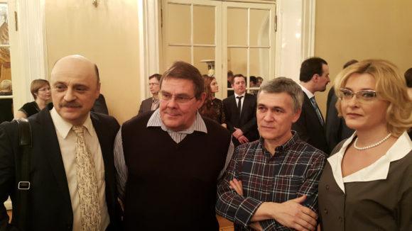 Александр Костинский, Борис Штерн, Владимир Сурдин и Ольга Орлова
