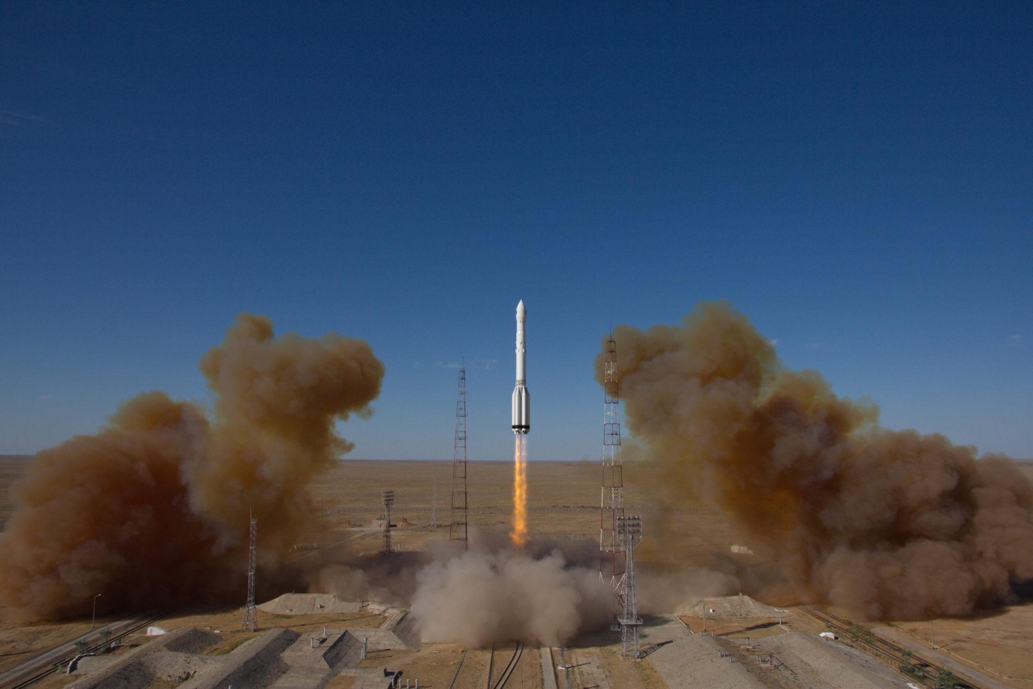 Запуск «Спектра-РГ». Фото КЦ «Южный» / ЦЭНКИ