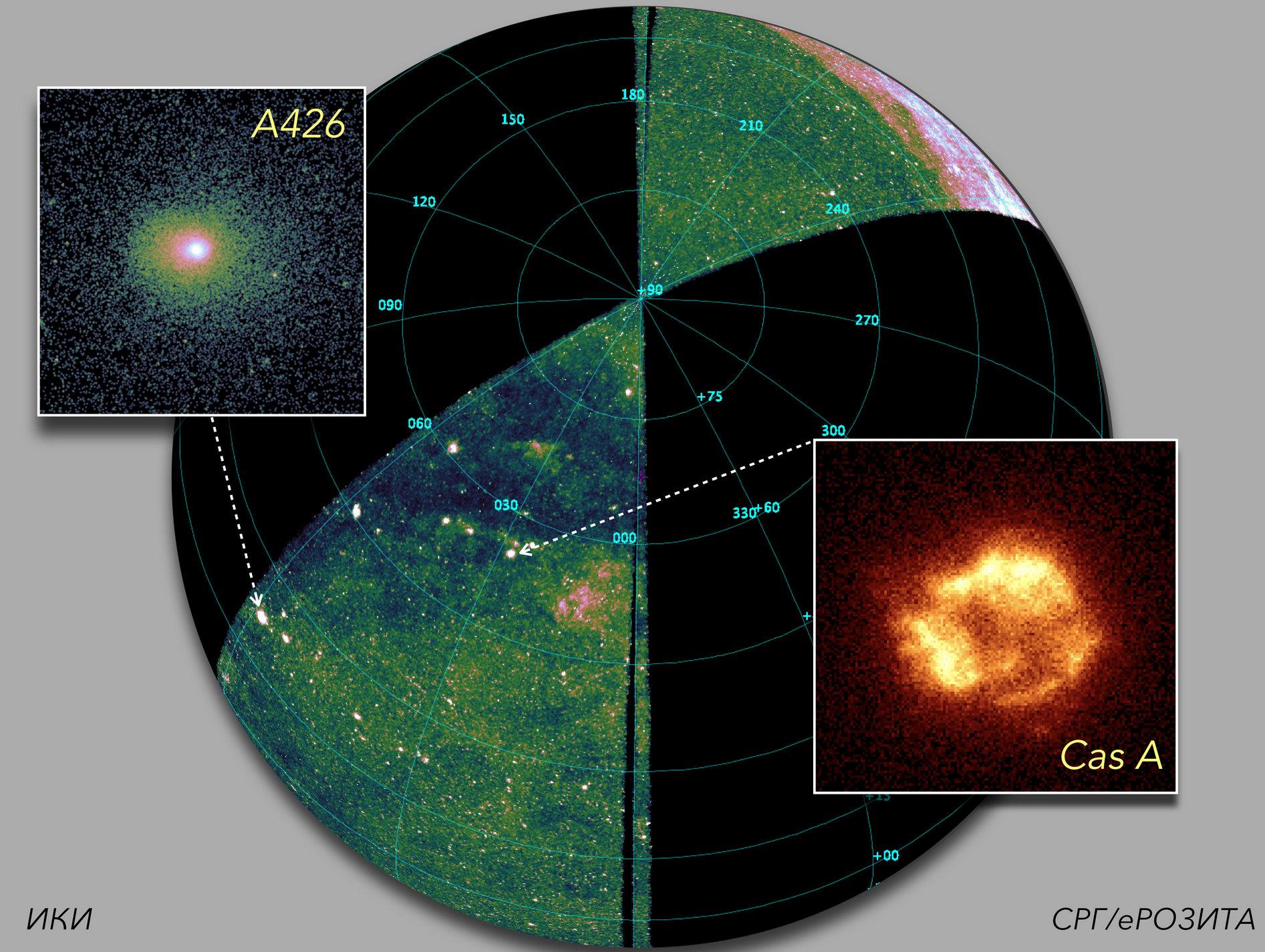 «Спектр-РГ» отсканировал уже треть небесной сферы