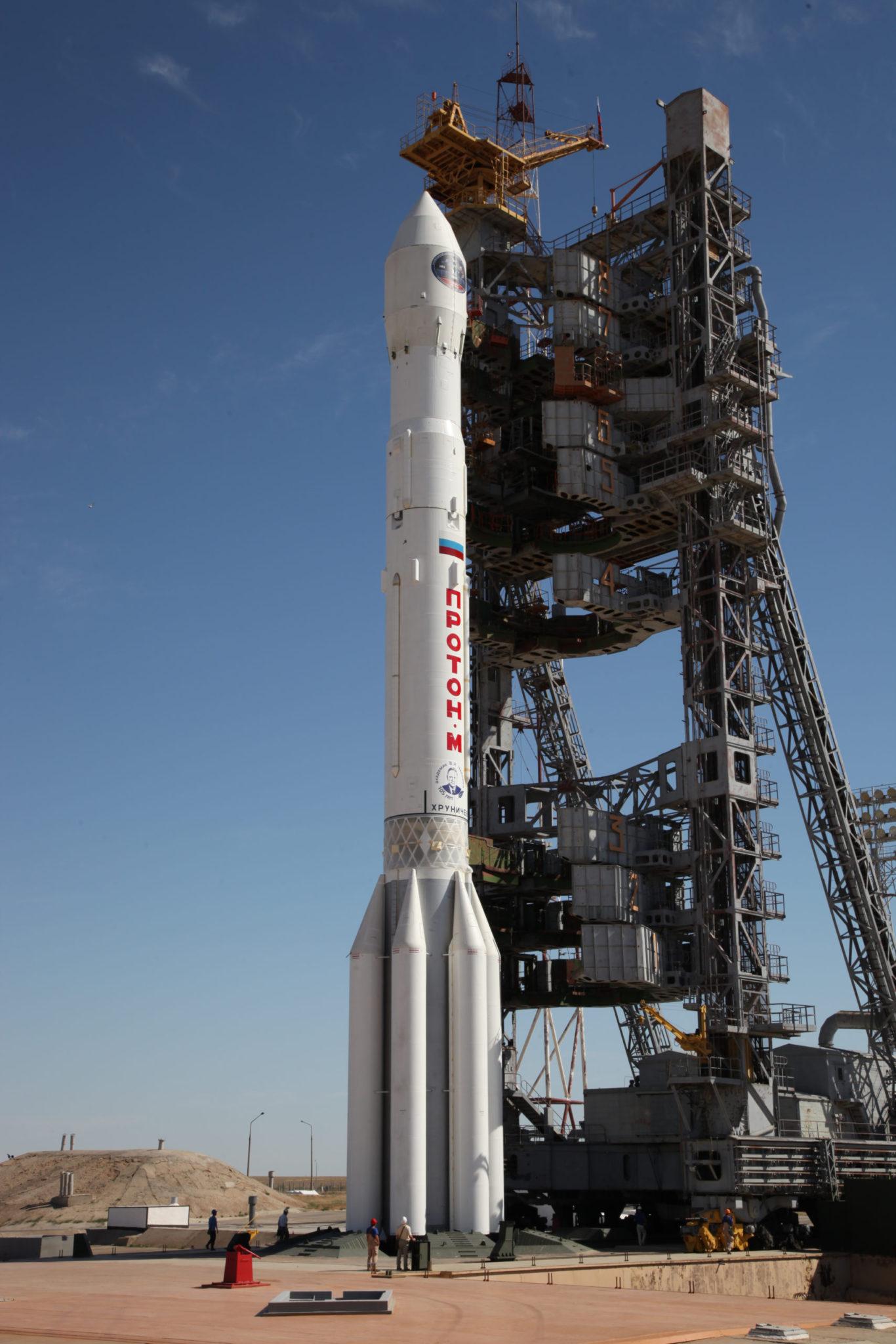 Пуск «Протона-М» с аппаратом «Спектр-РГ». flickr.com/roscosmos