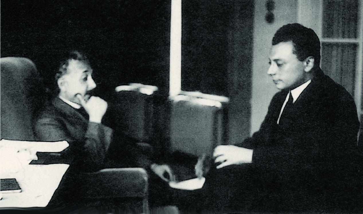 Альберт Эйнштейн и Вольфганг Паули