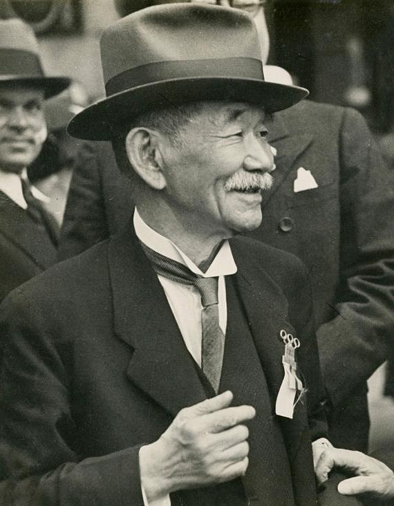Кано Дзигоро на сессии Международного олимпийского комитета в Берлине. 31 июля 1936 года. «Википедия»