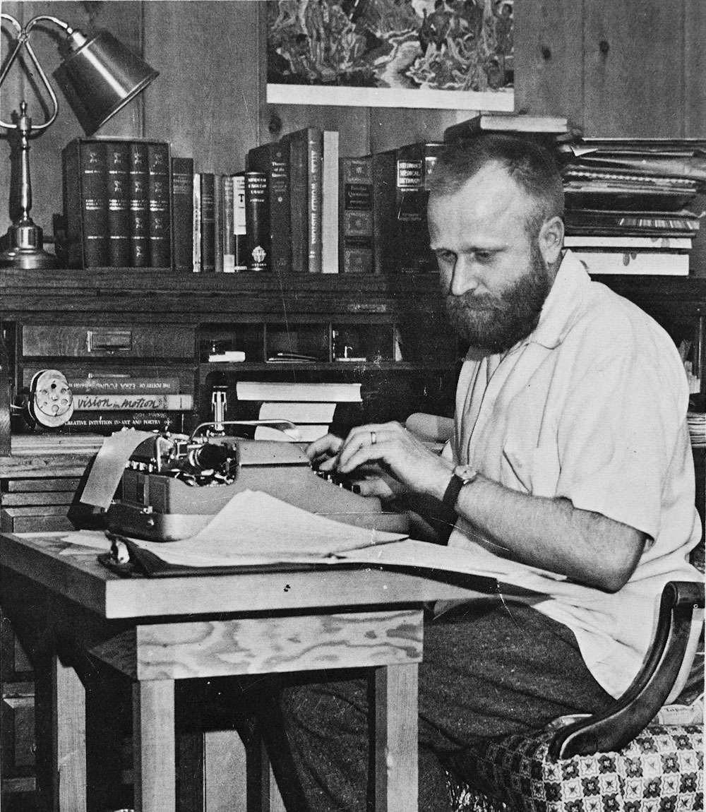 Молодой журналист Ф. Герберт